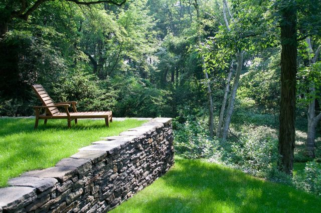 Rock Walls Used For A Fence What Is A House Garden Stone
