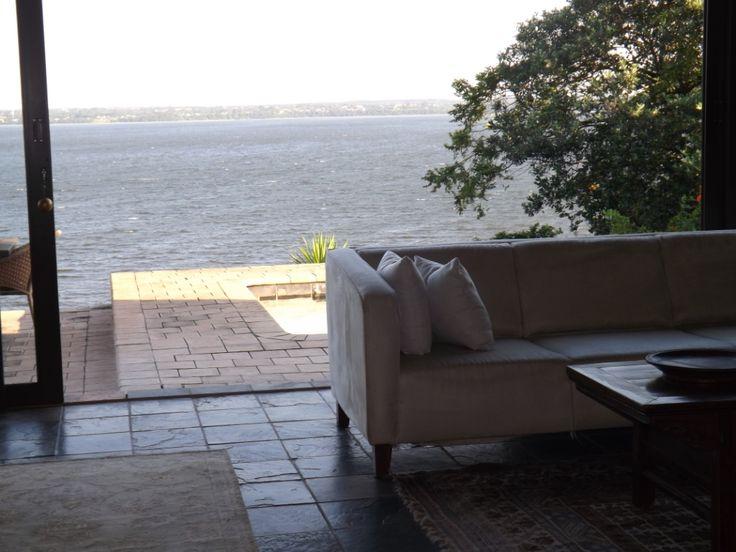 Lake view from verandah