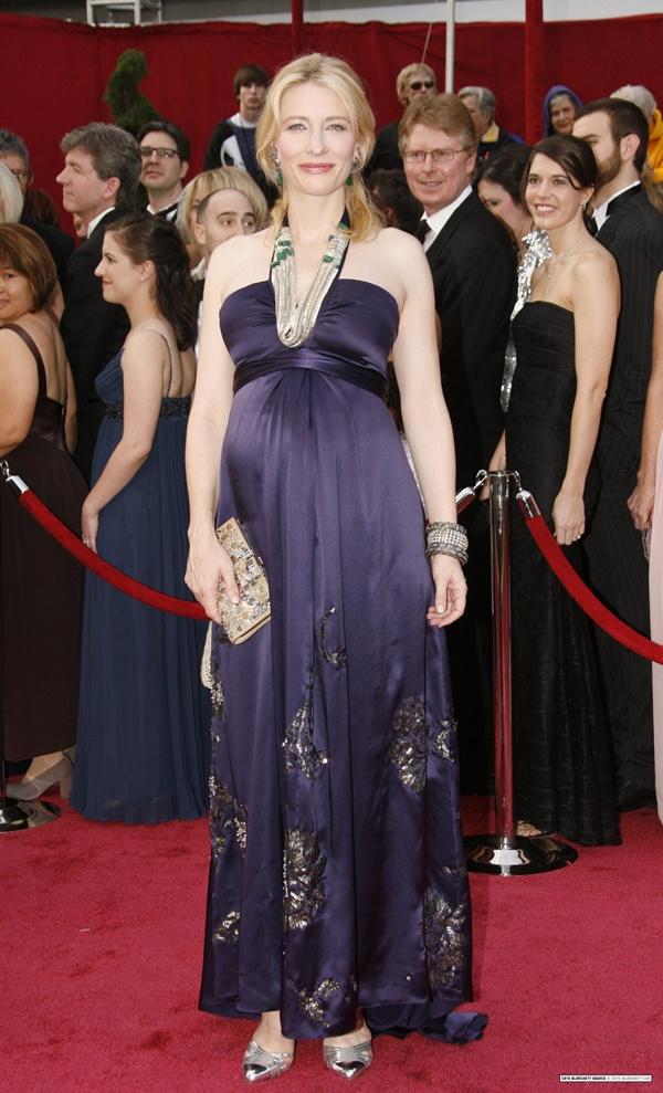 Red Carpet Maternity Dresses - Blanchett