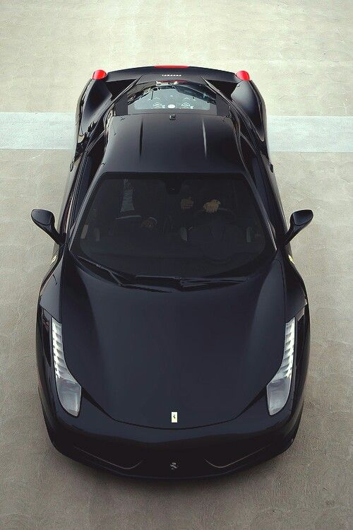 Ferrari 458 Italia. Car of the Day: 21 May 2015. Would nick-name Dark Knight :-)