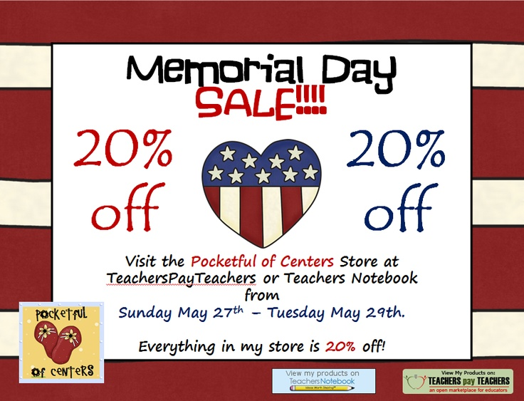 memorial weekend sales online