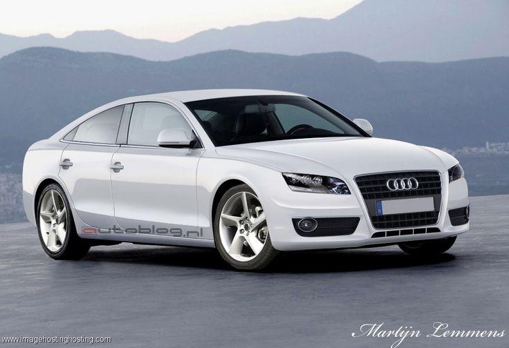 2012 Audi A7 White