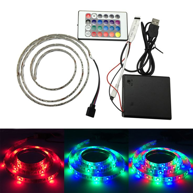 Cheap rope 25 pinterest find more led strips information about 3528 smd 60 led flexible rgb rope light with 24keys mozeypictures Choice Image