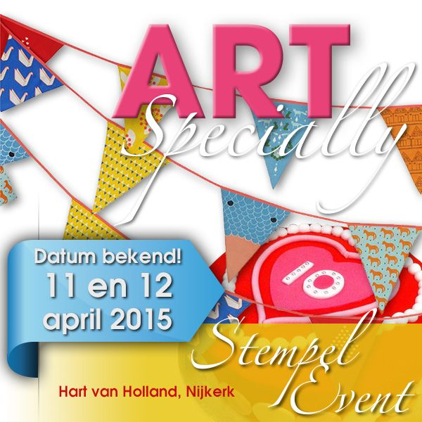 ARTSpecially 11 en 12 april 2015 in Nijkerk
