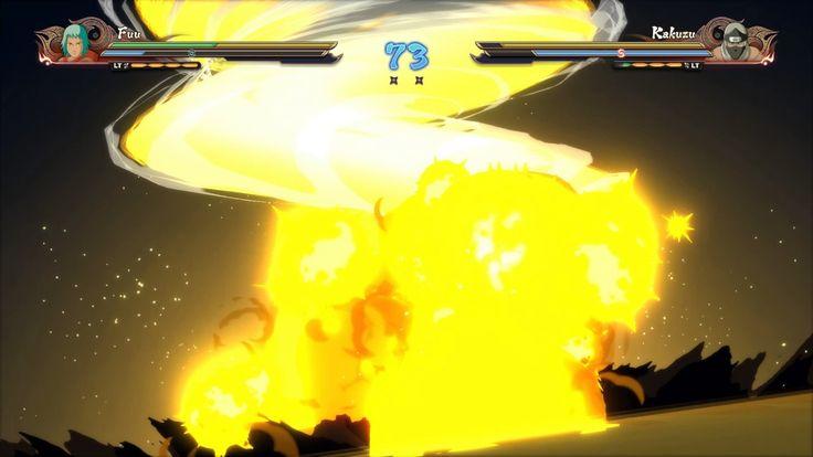 NARUTO SHIPPUDEN Ultimate Ninja STORM 4. フウVS角都  [Fuu vs Kakuzu]