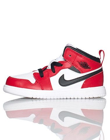 JORDAN Infant/Toddler high top sneaker Lace closure Padded tongue with  stitched Jordan logo Nike. Retro SneakersHigh ...