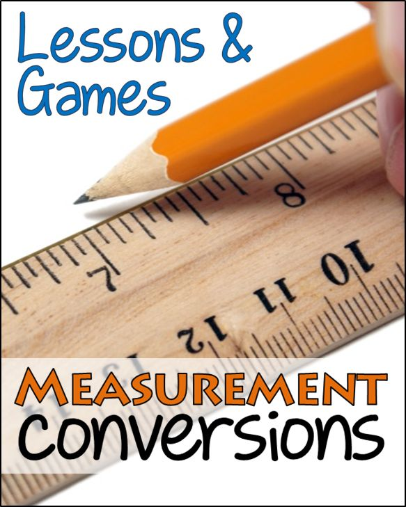 Fun with Customary Measurement Conversions - Teaching resources and a measurement foldable freebie to use with interactive notebooks!