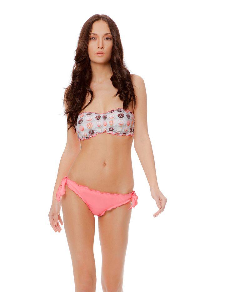 SWEET CANDY FASCIA PINK #paradisebeachwear #bikini #beachwear #style #fashion #sun #sea #beach #fun #love #friends #woman #apparel #summer #sweet #candy #pink
