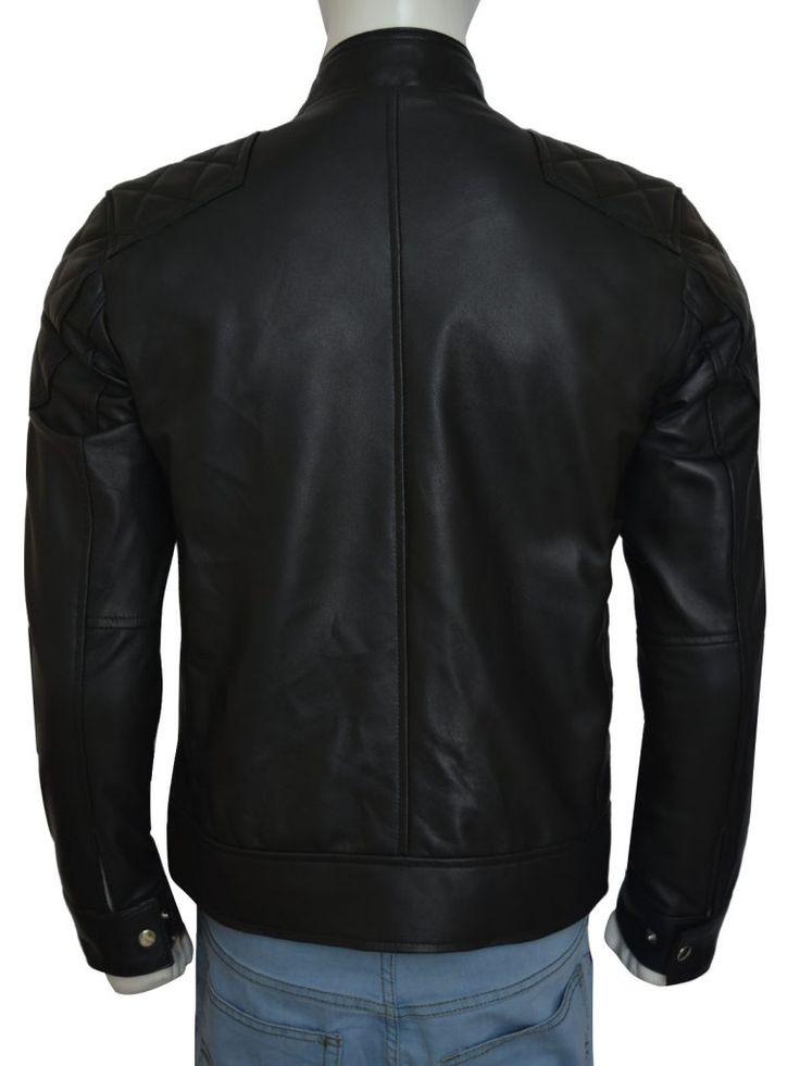 WWE Dean Ambrose Black Leather Jacket | Top Celebs Jackets