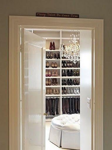 Closets AnnaandCoDream Closets, The Doors, Shoe Closet, Fairy Tales, Boots, Walks In, Fairies Tales, Shoes Closets, Dreams Closets