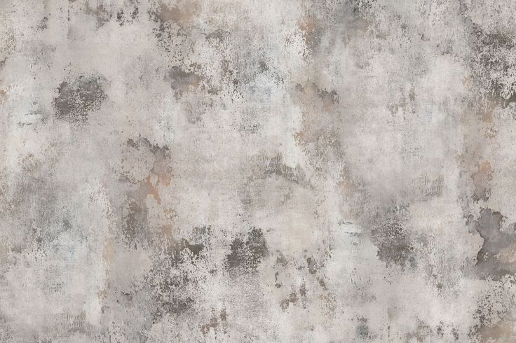 This is a hand-painted wallpaper design giving every room a patinated vintage feeling.