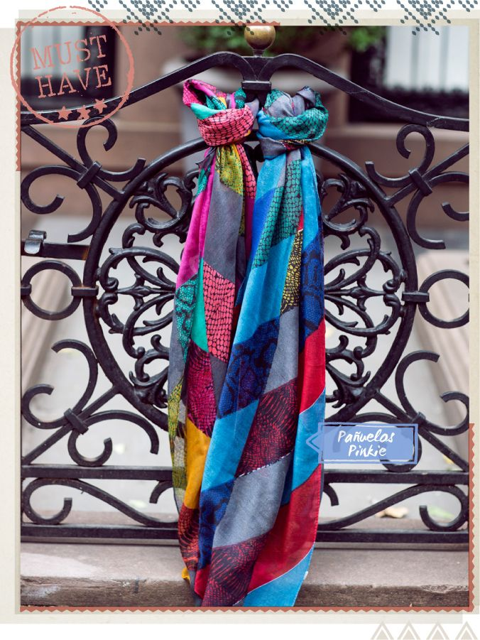 Pañuelo Pinkie #musthave #indiastyle