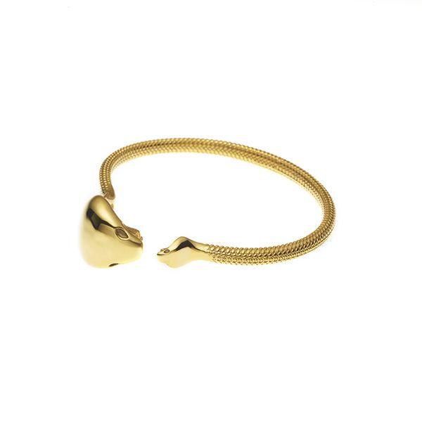 PUSHMATAaHA // Mother Serpent Bangle / Gold