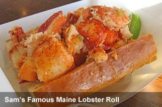 Sam's Chowder House lobster roll- Half Moon Bay, CA | Favorite Places ...