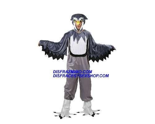 Tu mejor disfraz de buho hombre adulto.Deslumbra con su mono con alas y su gorro con pico en tus Fiestas Temáticas de Disfraces, Espectáculos o Carnaval con este original disfraz de buho de hombre.