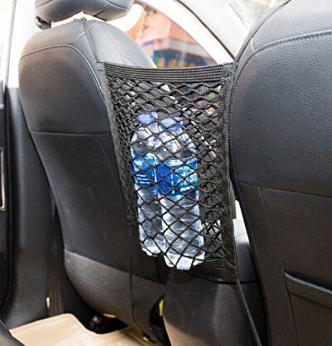 9 Moon Universal Nylon Car Truck Storage Luggage Hooks Hanging Organizer Holder Seat Bag Mesh Net for Subaru Forester Outback Legacy XV Impreza Sport