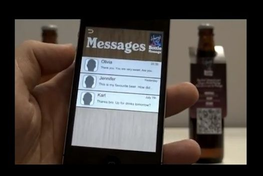 QR Code Beer Bottles Help Singles Meet At The Bar [Video]