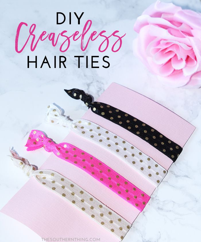 DIY Creaseless Hair Ties Tutorial @walgreens  #RethinkMyColour #ad