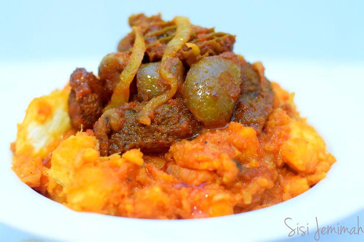 how to cook ewa agoyin stew