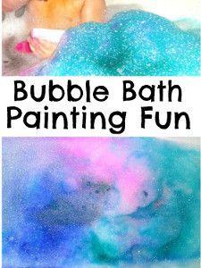 Color Burst Bubble Bath