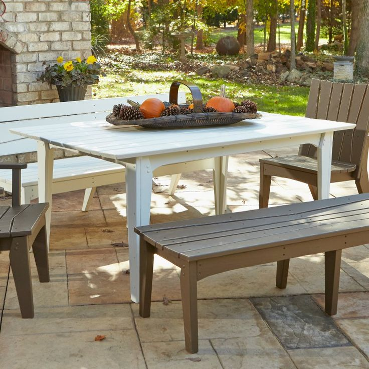 Rectangle Patio Dining Table   Patio Dining Tables At Hayneedle