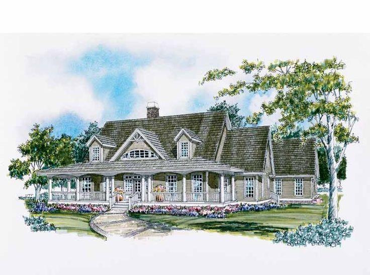 Eplans Farmhouse House Plan Southern Farmhouse At Its