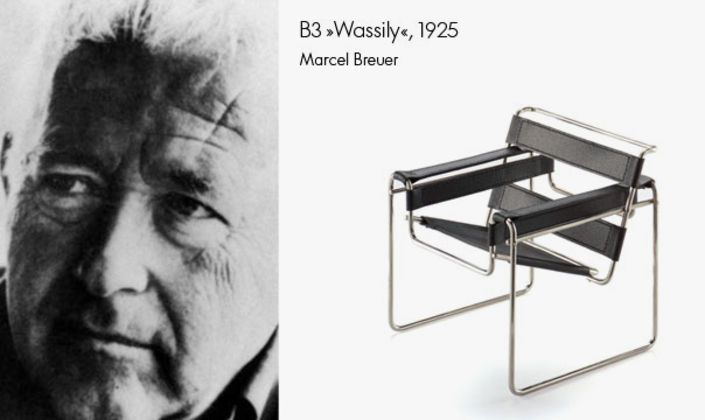 Created almost a hundred years ago, the design of B3  'Wassily' is still contemporary today.
