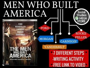 men who built america essay Name: per: men who built america directions: we will be watching episode 1 in class and all other will be watched outside of class following each episode answer the questions that go with each episode and write a ½ page.