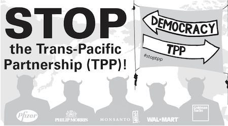 Rally: Stop the Trans-Pacific Partnership (TPP)! | Global Exchange --July 30, 2013 - 5:00pm in San Francisco
