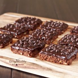 Paleo Double Chocolate Expresso Bars (gluten, grain, dairy, egg free)