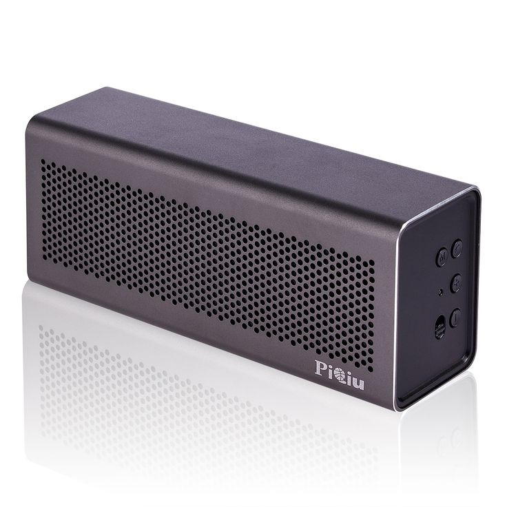 [New Release]Bluetooth Speaker, Piqiu Premium Aluminum portable Wireless Stereo Speaker,Dual Passive Radiators / Subwoofers for Bass---fit for iPhone, iPad, Samsung and More, Built-in Microphone. Tough built with premium aluminum Case, High-end aluminum cutting-edge alloy shell casing assures a sleek look and durable configuration. Finishclear deep bass HD premium loud speakers with 40mm×2premium drivers for both active outdoor and indoor use. Huge Stereo Sound: Enjoy crisp, clear audio…