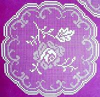crochet em revista: Rosas
