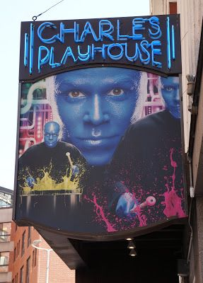 Blue Man Group High Energy Fun in Boston @ the Charles Playhouse & ASU Gammage Tempe, AZ