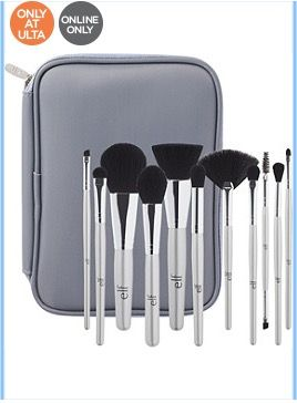 ELF Cosmetics: Silver 11 Piece Brush Collection