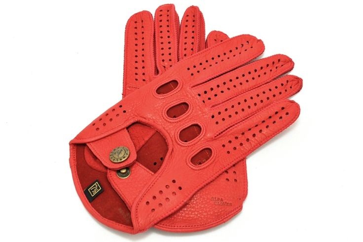 Driving gloves from alpagloves.com Code: 2-A11-1-1 RED