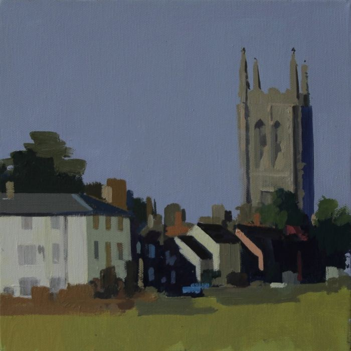 Long Melford by Philip Richardson