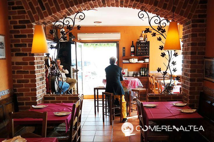 Interior Rústico   Ca Jaume   Passeig Marítim   #Altea #restaurante #mediterraneo #comer_en_altea