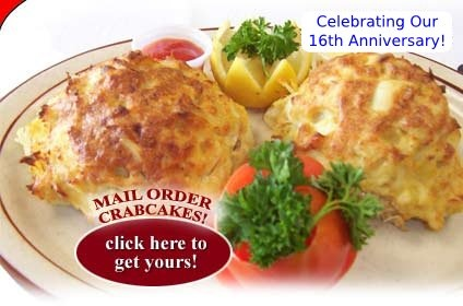 G & M crab cakes were voted Baltimore's Best 5 years in a row! Not sure when I'll be able to make it out there but they do ship!! :)
