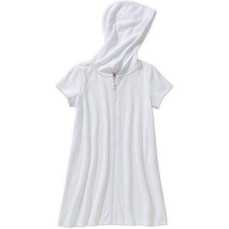 Op Girls' Swimwear Cover-Up, Size: 14/16, White