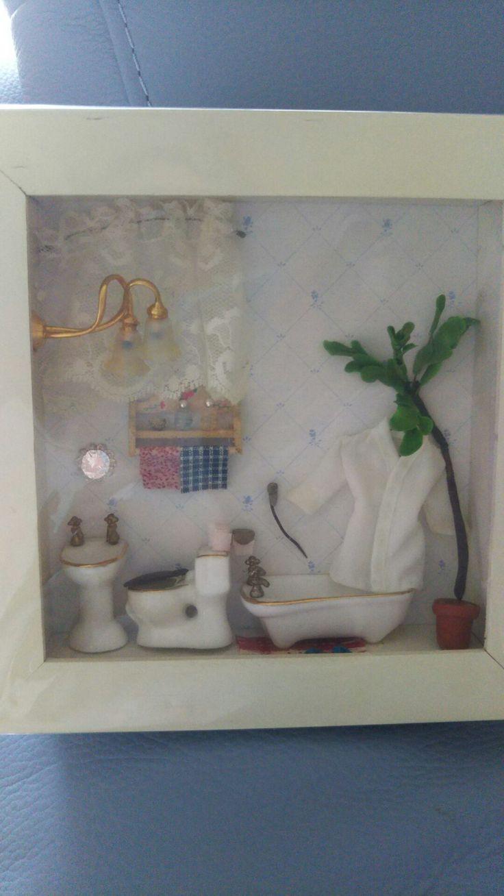 箱の中のバスルーム
