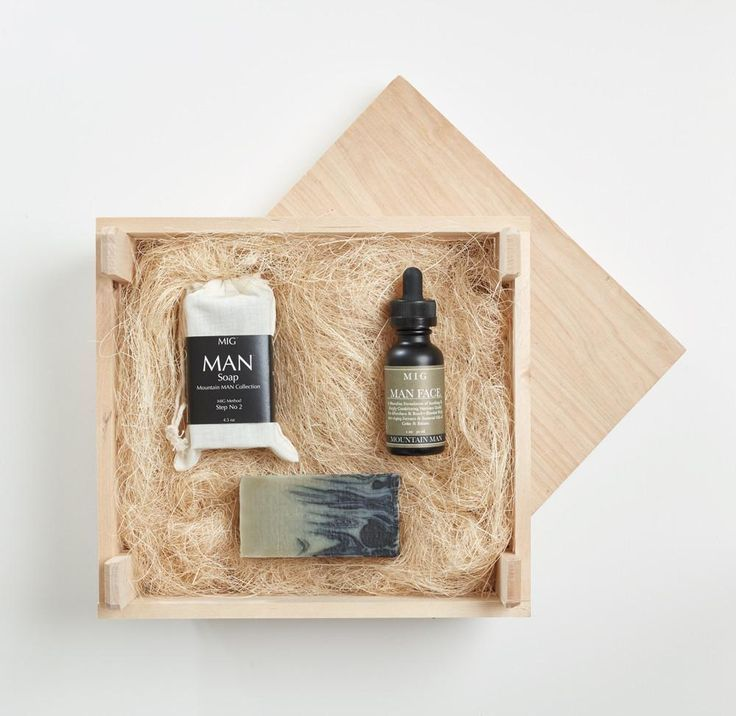 Mountain MAN Bundle- 3 In 1 Soap/Shave/Shampoo Bar SoapCover all your basics with one product. Get good, clean hair + body, and a close shave all without drying out your skin. This soap is about as manly as it gets... we've heard stories of men wrestling