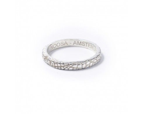 midsummer ring – zilver - Petite rings - NOOSA-Amsterdam Petite Collection