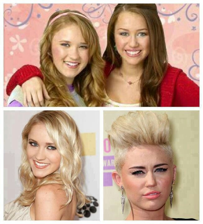 emily osment and miley cyrus naked