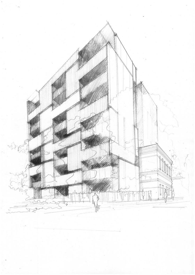 17 best multi residential architecture images on pinterest for Residential architectural drawings