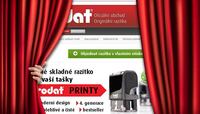 Nové www.razitko.cz je tady! Stále zcela bezplatně! - http://www.mega-blog.cz/aktuality/nove-www-razitko-cz-je-tady-stale-zcela-bezplatne/ V průběhuříjna 2014 postupně spustímezcela novou verzi vašeho oblíbeného nástroje, elektronického obchodu www.razitko.cz. Protože jej naprostá většina výrobců razítek TRODAT používá, nebudeme systém podrobně představovat, ale zaměříme se jen na změny a...