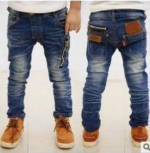 Jk-032 al por menor 2015 nuevo llega la alta calidad del otoño del resorte nuevos jeans de los niños bebé niña pantalones niños jeans moda hipping libre(China (Mainland))
