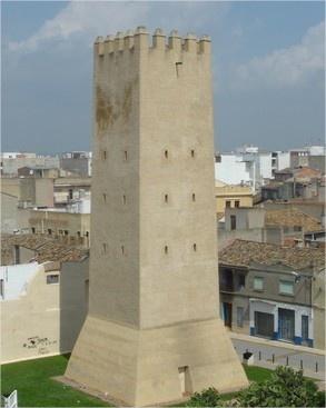 Torre islàmica defensiva en Almussafes.