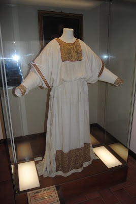 12th Century alb, diocesan museum in Viterbo, Italy.