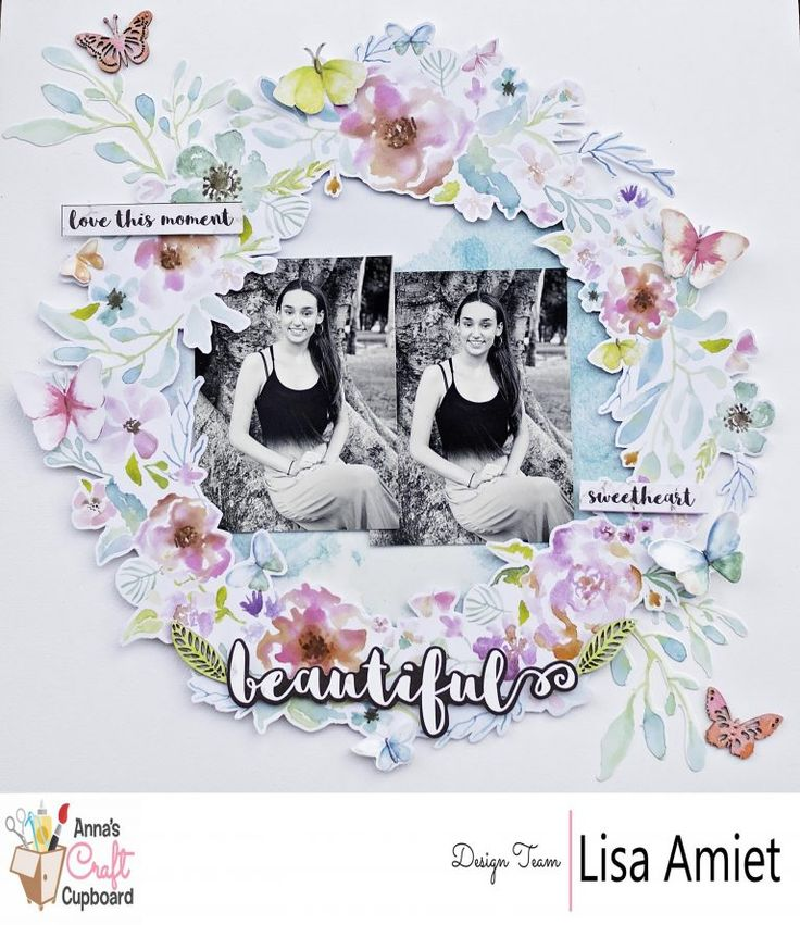 Have you seen the beautiful Wildflower collection from @Kaisercraft yet?... The collection is in store now at Anna's Lisa @leesyjsnaps got creative with this beautiful collection making some cards and this stunning layout!   You can see all of Lisa's creations over on @annascraftcupboard blog  #scrapbooking #annascraftcupboard #onetalentedlady #annasdtmember #scrapbookinglayout  #ilovescrapbooking #annasdtinspiration #kaisercraft #wildflower