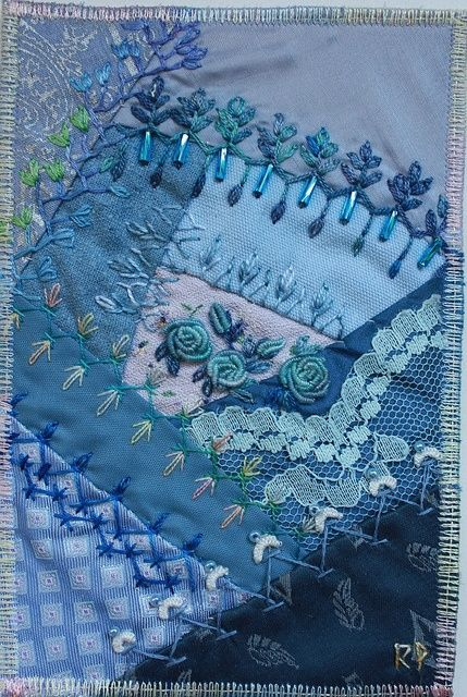 crazy quilting….be
